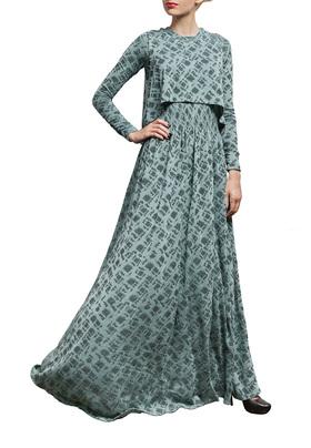 """Трикотажное платье с майкой """"БЕЛЛА"""""""