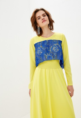 Платье Белла желтое