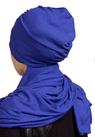 Шапка- шарф/ультрамарин