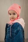 """Комплект детский """"Зайка"""": шапка и снуд"""