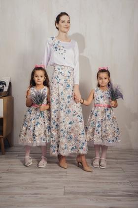 """Платье детское """"Цветы"""""""